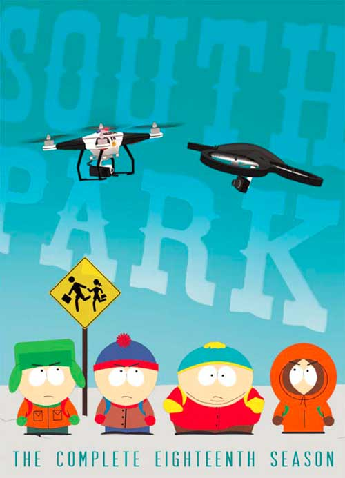 South Park seizoen 18 DVD / Blu-ray