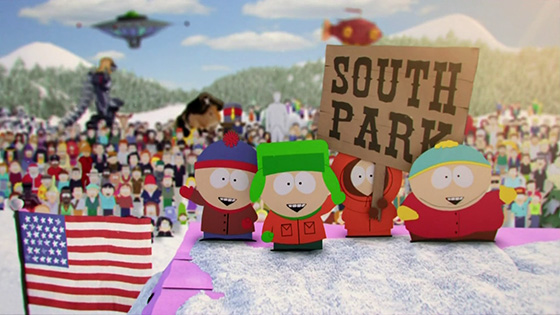 South Park intro